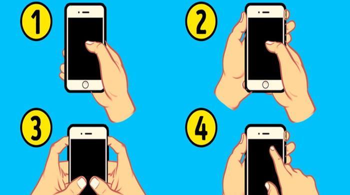 موبائل فون پکڑنے کا طریقہ بھی آپ کی شخصیت کو ظاہر کرتا ہے