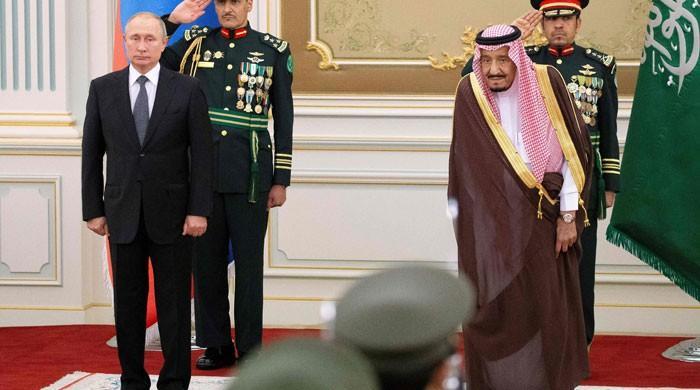روسی صدر 12 سال بعد سعودی عرب پہنچ گئے