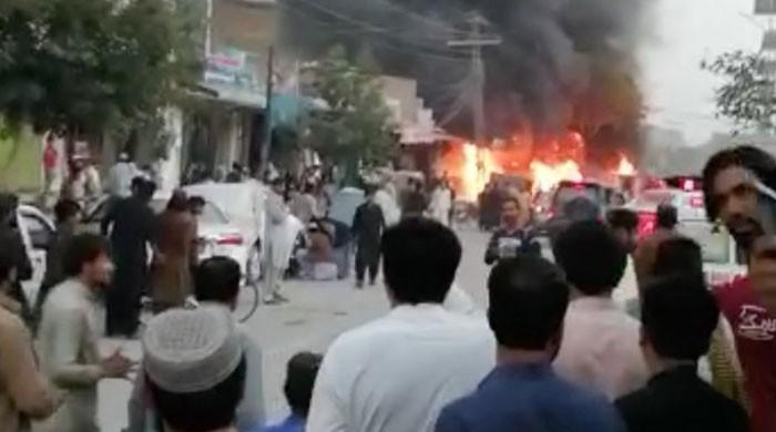 کوئٹہ میں پولیس موبائل کے قریب دھماکا، ایک اہلکار شہید