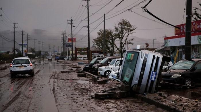 جاپان میں سمندری طوفان ہیگی بس کی تباہی، ہلاکتوں کی تعداد 74 ہوگئی