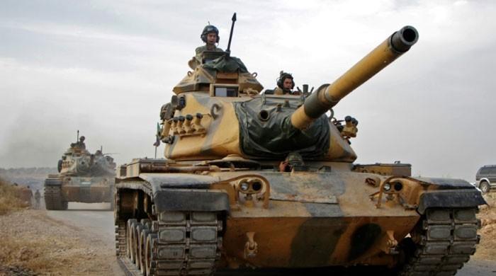 ترکی اور شام میں  ممکنہ تصادم روکنے کیلئے روسی فوج کا گشت