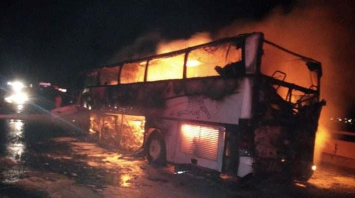 مدینہ منورہ میں بس کو حادثہ، 35 غیر ملکی ہلاک