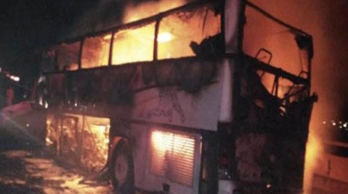 مدینہ منورہ بس حادثے میں جاں بحق ہونے والوں میں پاکستانی بھی شامل