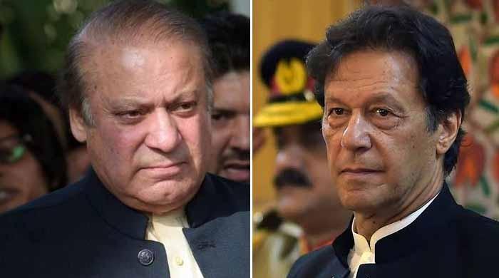 'خان صاحب نے تلخ انداز میں کہا، دیکھتے ہیں نوازشریف کیسے بھاگتا ہے'