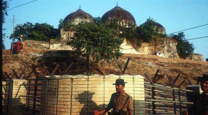 بھارت کا بابری مسجد کی جگہ فوری طورپر رام مندر بنانے کا فیصلہ