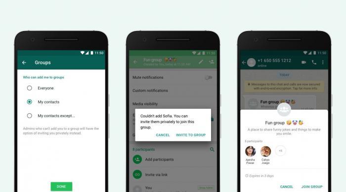 واٹس ایپ کا پرائیویسی کنٹرول میں بڑی تبدیلی کا اعلان