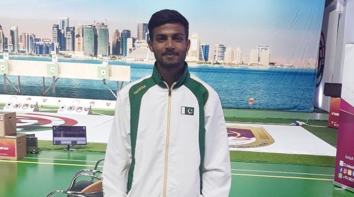 پاکستانی شوٹر گلفام جوزف نے اولمپکس میں رسائی حاصل کرلی