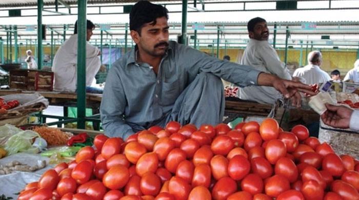 ٹماٹرکی قیمت 400 روپے فی کلو ہونے پر پنجاب اسمبلی میں قرارداد جمع