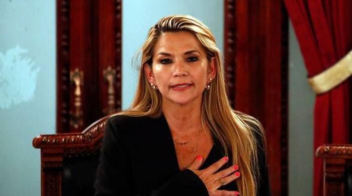بولیوین صدر کے مستعفی ہونے کے بعد اپوزیشن کی سینیٹر نے خود کو صدر قرار دیدیا