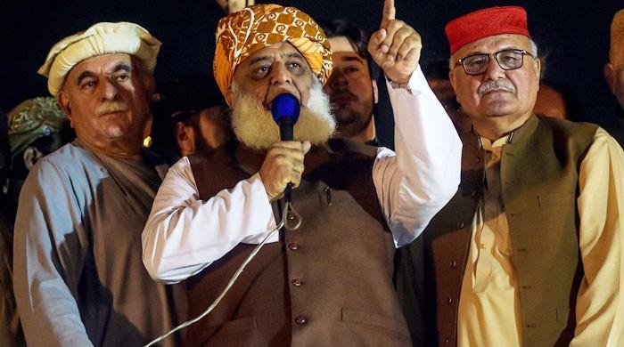 جے یو آئی کا اسلام آباد میں دھرنا ختم ، ملک بھر میں دھرنے شروع کرنے کا اعلان
