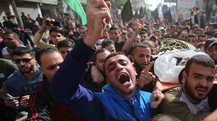 غزہ میں اسرائیلی بمباری سے 24 فلسطینی شہید