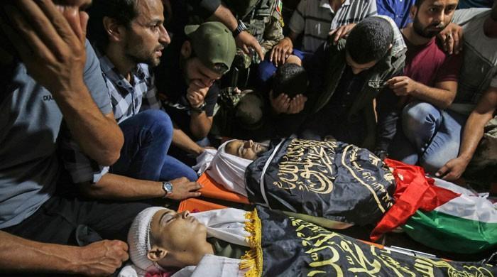 غزہ میں اسرائیلی جارحیت؛34 افراد کی شہادت کے بعد مصر کی کوششوں سے جنگ بندی