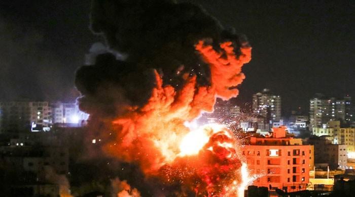 اسرائیل کی سیز فائر معاہدے کی خلاف ورزی، ایک بار پھر غزہ پر فضائی حملہ