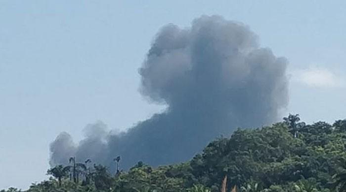 بھارت کا ایک اور جنگی طیارہ گر کر تباہ