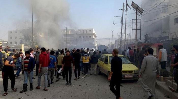 شمالی شام میں کار بم دھماکا، 18 افراد ہلاک
