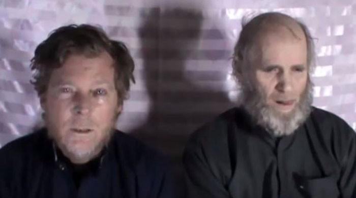 انس حقانی سمیت 3 رہنماؤں کے بدلے افغان طالبان نے دو غیرملکی رہا کردیے