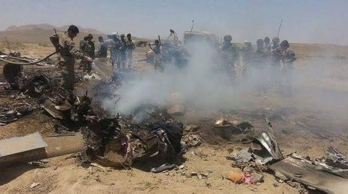 طالبان کا افغانستان میں امریکی ہیلی کاپٹر تباہ کرنے کا دعویٰ، دو اہلکار ہلاک