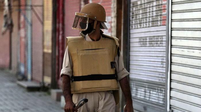 کشمیر میں بھارتی جارحیت جاری، حریت پسندوں کی جائیدادیں ضبط