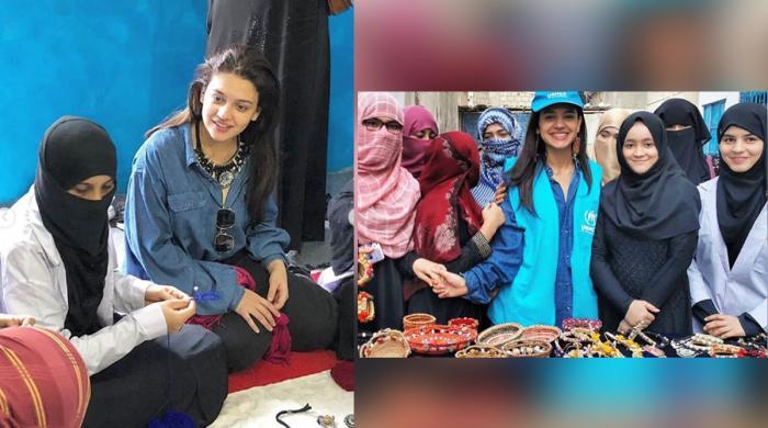 زارا نور عباس کی خواتین مہاجرین کو با اختیار بنانے کی کاوش