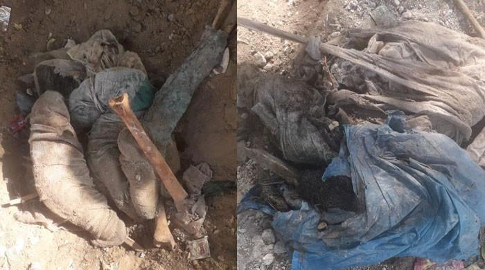 کراچی کے انو بھائی پارک سے بڑی تعداد میں انسانی ہڈیاں برآمد
