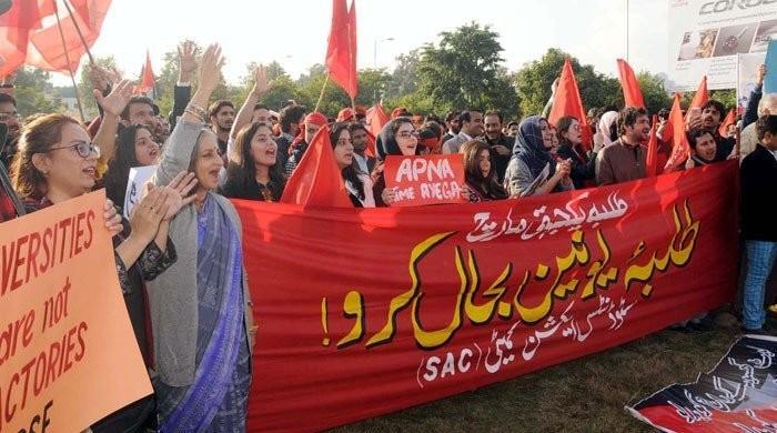 طلبہ تنظیموں کےحوالے سے اچھا اقدام