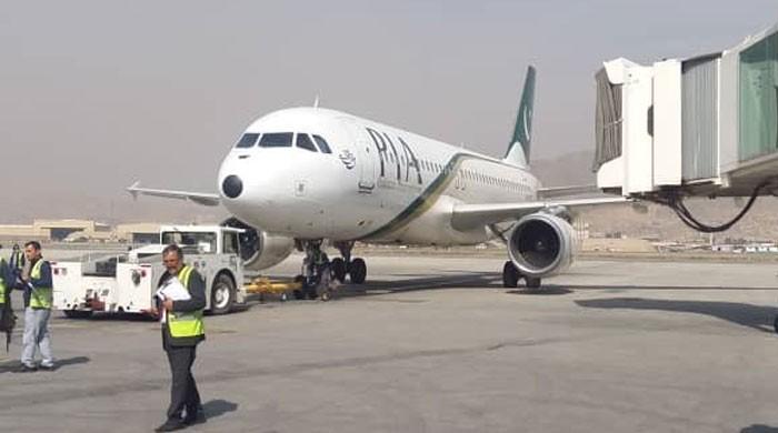 افغان حکام نے پی آئی اے طیارے کو بڑا رن وے استعمال کرنے سے روک دیا