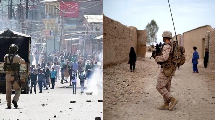 کشمیر اور افغانستان 2020 میں