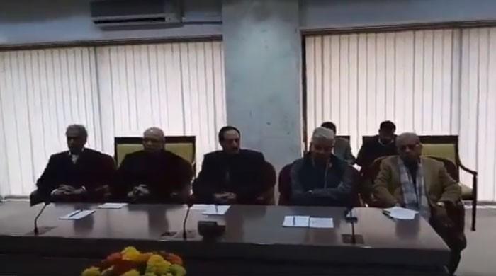 کہاں گیا ووٹ کو عزت دو کا بیانیہ؟ ن لیگ کے پارلیمانی پارٹی اجلاس کی کہانی