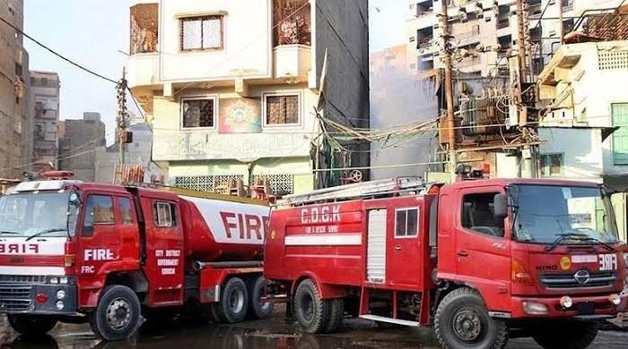 کراچی: محکمہ فائر بریگیڈ کو 10 روز سے ڈیزل کی فراہمی معطل
