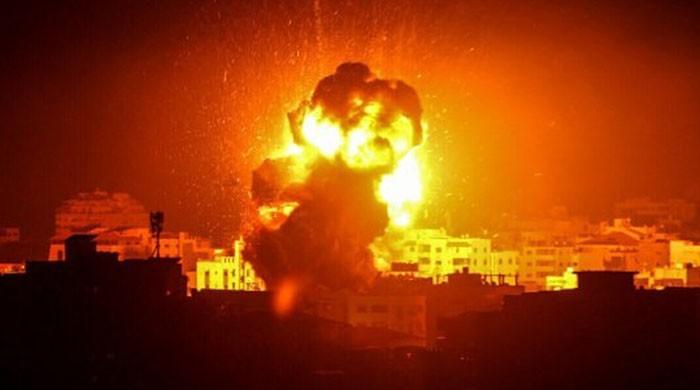 اسرائیل کے 24 گھنٹے میں دو مرتبہ غزہ پر فضائی حملے