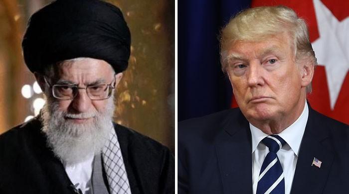 'الفاظ کے چناؤ میں محتاط رہیں'، ٹرمپ کی ایران کے سپریم لیڈر کو تنبیہ