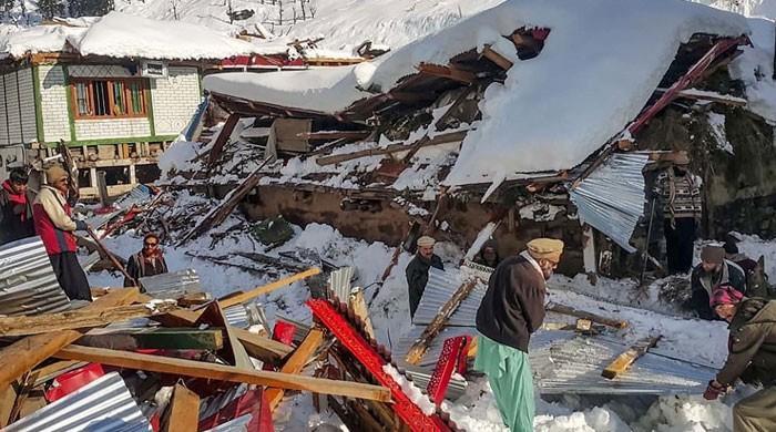آزادکشمیر :برفانی تودہ گرنے سے ہلاکتیں 79 ہو گئیں، متاثرہ علاقےآفت زدہ قرار