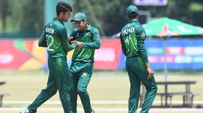 انڈر 19 ورلڈکپ: پاکستان کا فاتحانہ آغاز، اسکاٹ لینڈ کو شکست دے دی