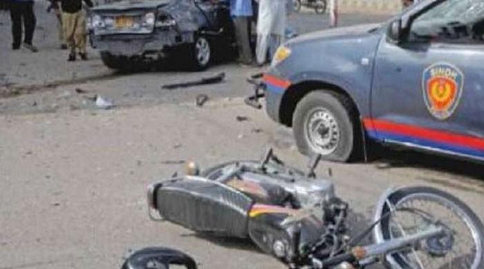 کراچی: 'حادثات میں 700 افراد موقع پر ہی مر جاتے ہیں'