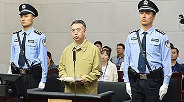 انٹرپول کے سابق سربراہ کو ساڑھے 13 برس قید کی سزا