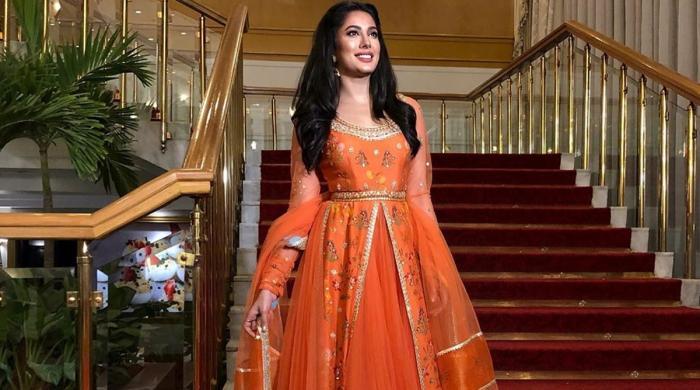 بھارتی اداکار کی خواہش پر مہوش حیات کا رد عمل سامنے آگیا