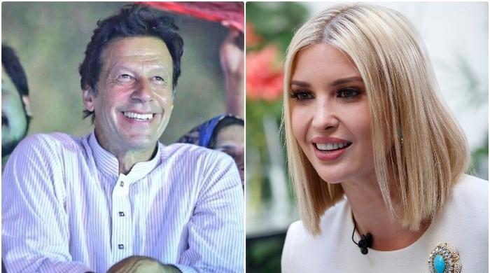 امریکی صدر کی بیٹی کی وزیراعظم عمران خان سے ملاقات