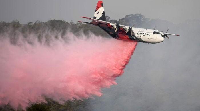 آسٹریلیا میں جنگلات کی آگ بجھانے والا طیارہ خود تباہ ہوگیا، 3 افراد ہلاک