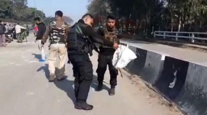 بھارتی یوم جمہوریہ کے موقع پر آسام دھماکوں سے گونج اٹھا