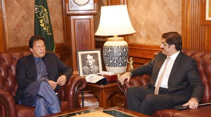 آئی جی کے معاملے پر وزیراعظم اور وزیر اعلیٰ سندھ کے درمیان ٹیلیفونک رابطہ