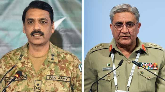 آرمی چیف اور آصف غفور کی لندن میں اہم ملاقاتوں کی خبریں جعلی قرار