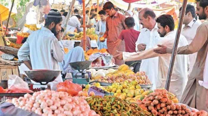2018 کے مقابلے 2019 میں پھل اور سبزیوں کی قیمت میں 83 فیصد ریکارڈ اضافہ ہوا