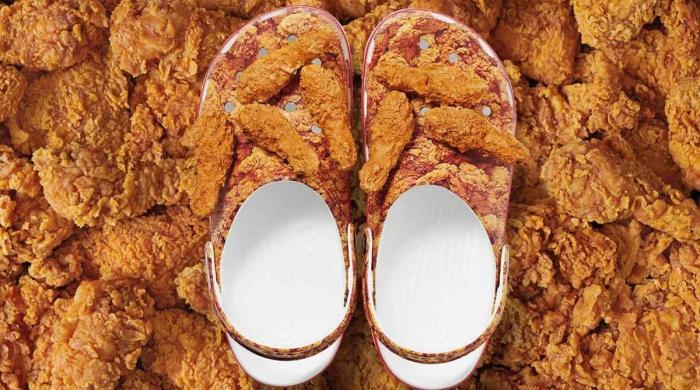 پیش ہیں چکن فرائیڈ جوتے