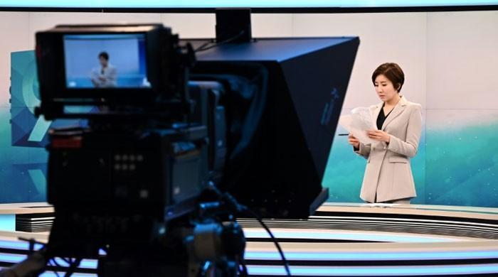 9 بجے کا اہم خبرنامہ پڑھنے والی پہلی کورین خاتون اینکر