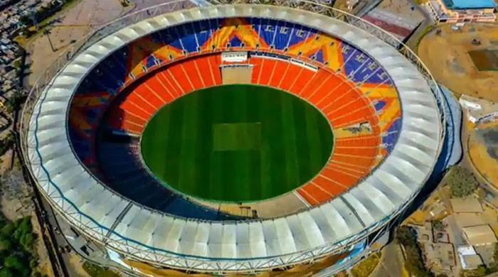 دنیا کا سب سے بڑا کرکٹ اسٹیڈیم افتتاح کیلئے ٹرمپ کا منتظر