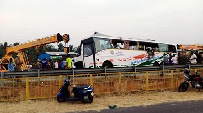بھارتی ریاست تامل ناڈو میں ٹریفک حادثہ، 19 افراد ہلاک