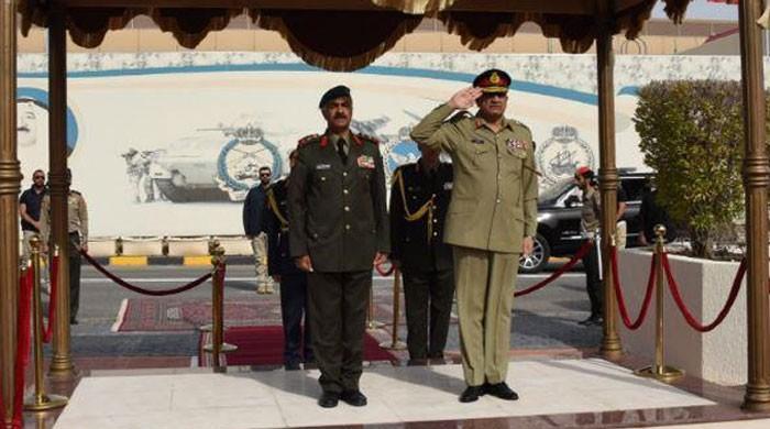 آرمی چیف جنرل قمر جاوید باجوہ کا کویت کا ایک روز کا دورہ