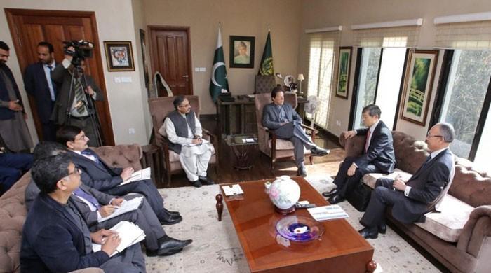 وزیراعظم سے جائیکا کے صدرکی ملاقات، مختلف منصوبوں پر بریفنگ
