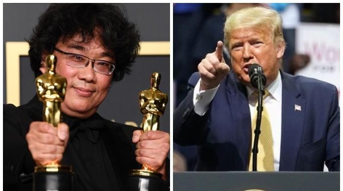 سیاسی مخالفین کے بعد ڈونلڈ ٹرمپ آسکر ایوارڈز پر بھی برس پڑے
