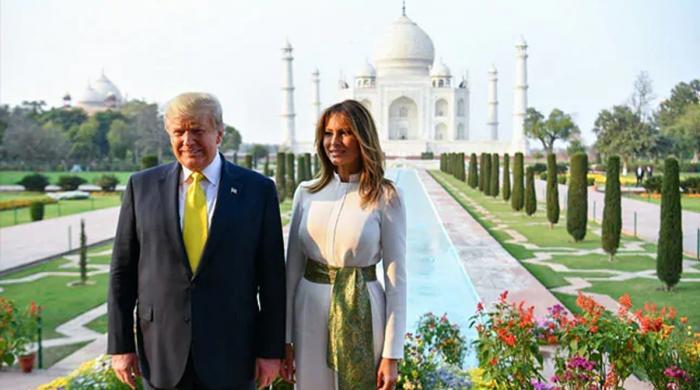 ٹرمپ لمبے قد کی وجہ سے تاج محل میں کس جگہ نہ جاسکے؟
